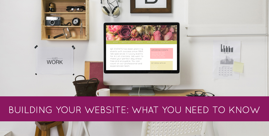 Building your website: what you need to know