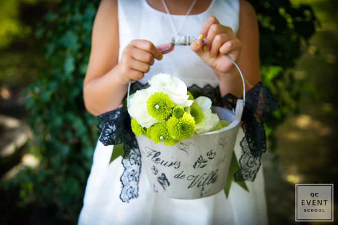 You can use stock photography when just launching your wedding planning career to promote your services