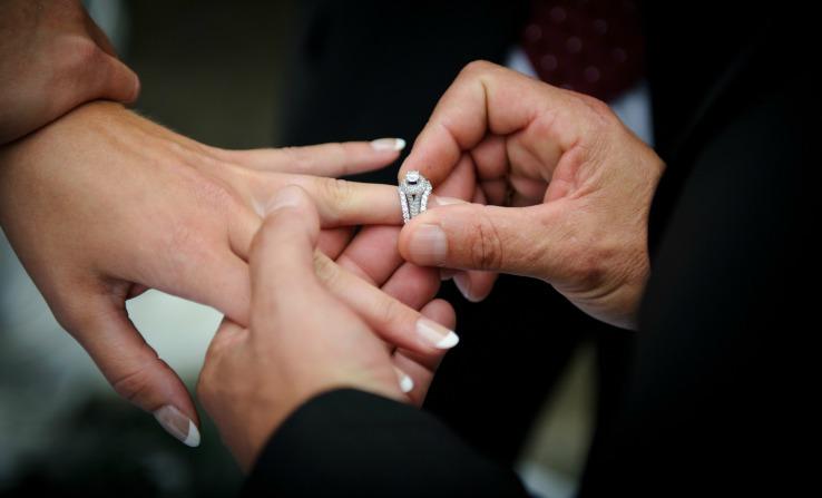 Christian Wedding Exchange Of Rings