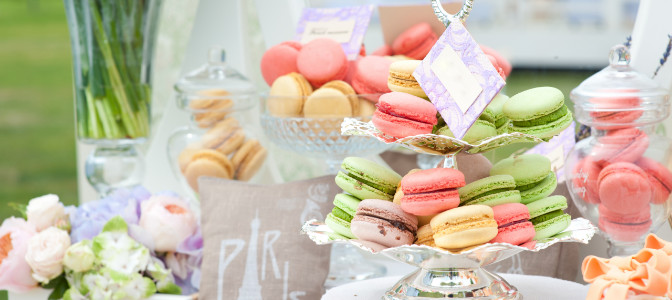 Dessert bar inspiration for new event and wedding planners