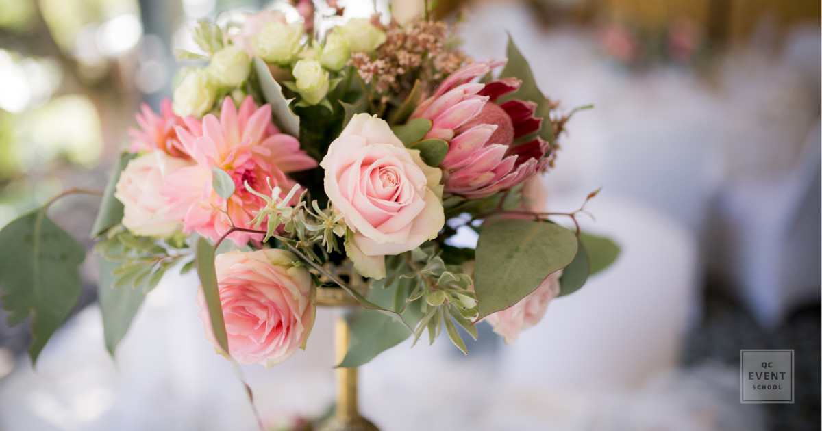 centerpiece floral design event planning wedding event decor