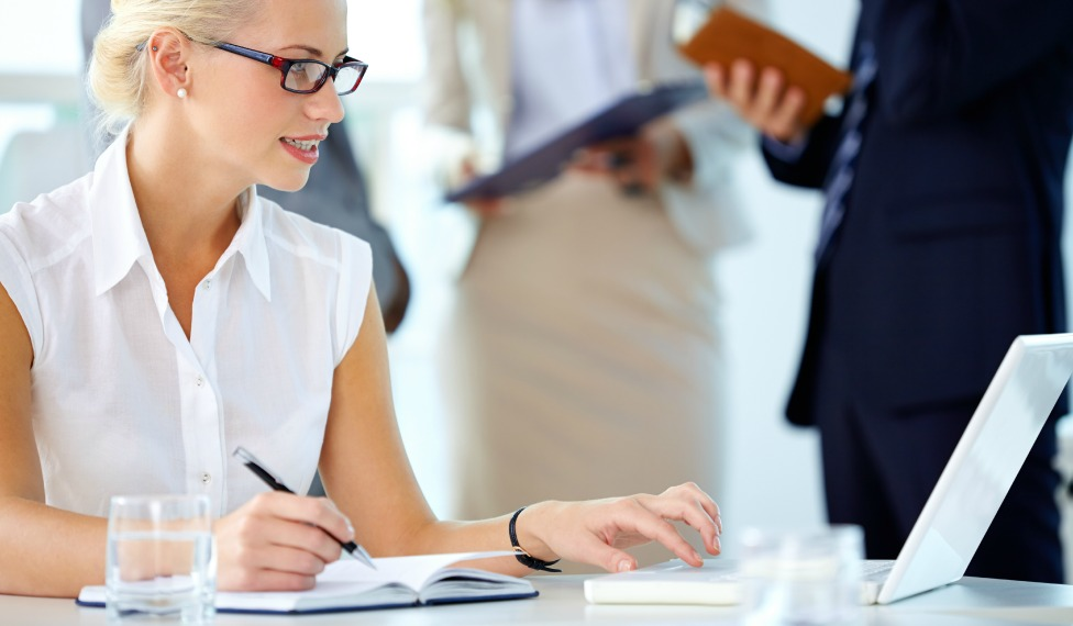 Woman ready to start an event planning business