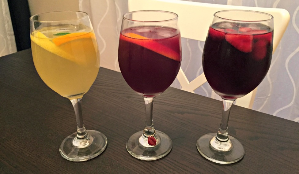 Easy summer sangria recipes