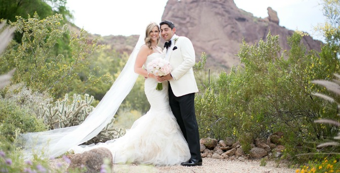 Arizona wedding shoot