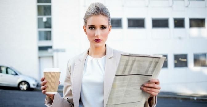 Marketing pro business woman