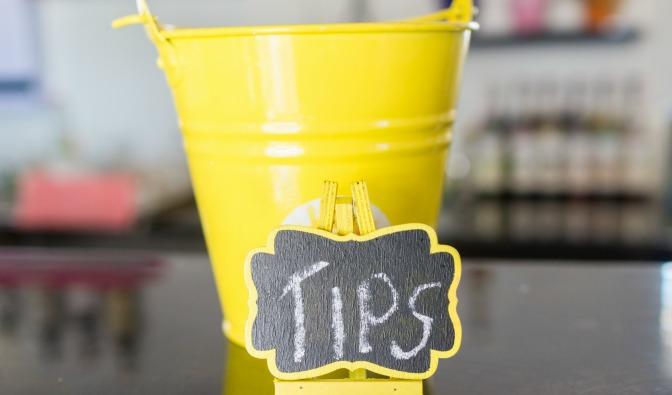 """Tips"" bucket"