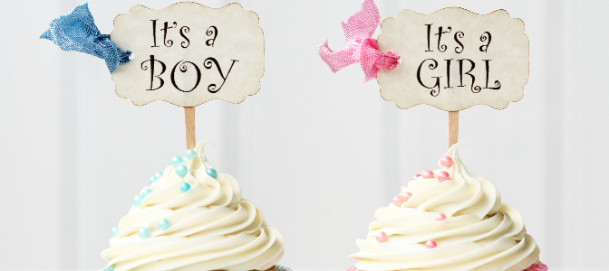 When did baby showers become popular in North America?