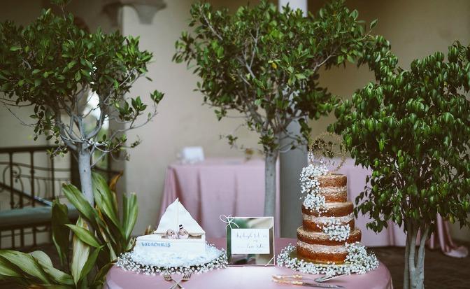 Wedding table decor by Chelsea Steffek
