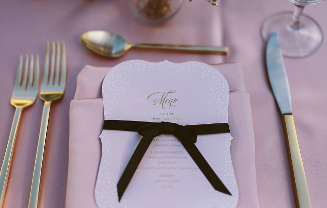 Place setting by Chelsea Steffek