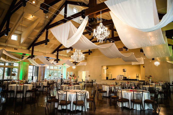 Wedding reception setup by Chelsea Steffek