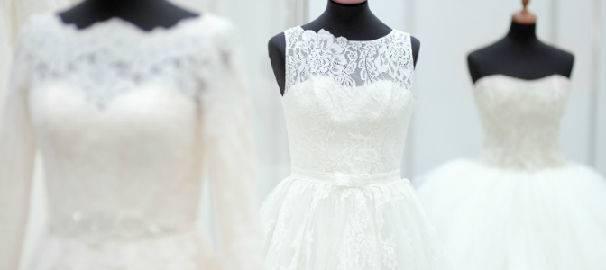 Who was responsible for making white wedding dresses the norm?