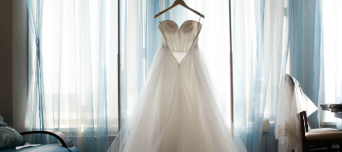 Most wedding dresses need alterations before they're ready to wear