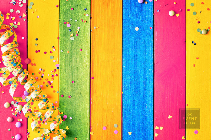 choosing the colors for your event theme