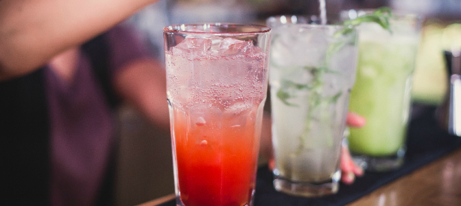Keep all your guests happy with a variety of mixed drinks