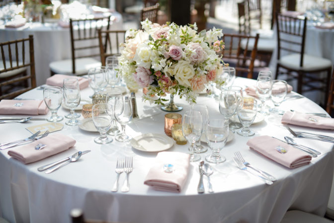tablescape for wedding portfolio