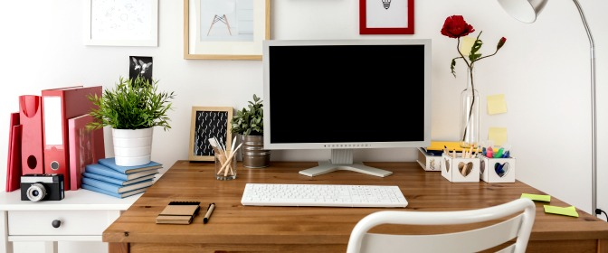 Having your own office is great, but it does mean another space to keep organized! When you envision your future workspace, what does it look like?