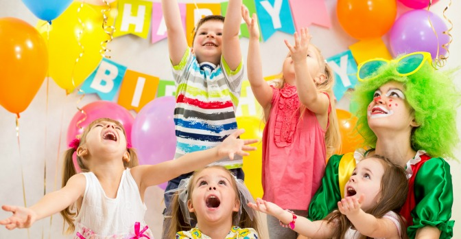 Birthday parties don't cost as much as weddings—but they're still lots of fun!