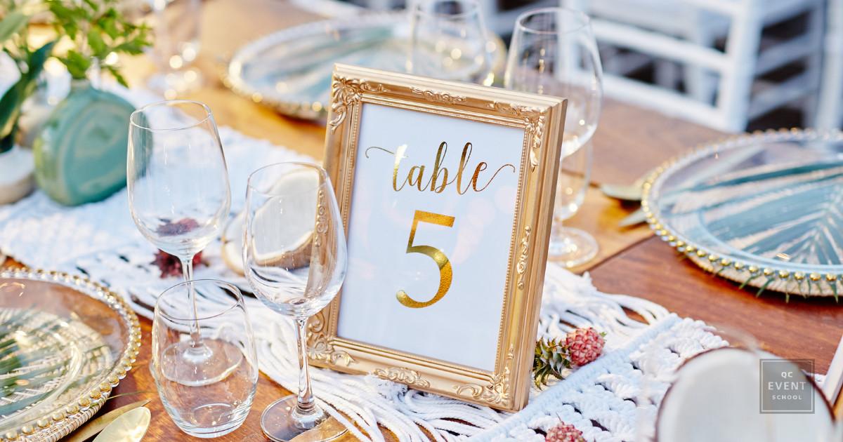 wedding planner seating plan table number