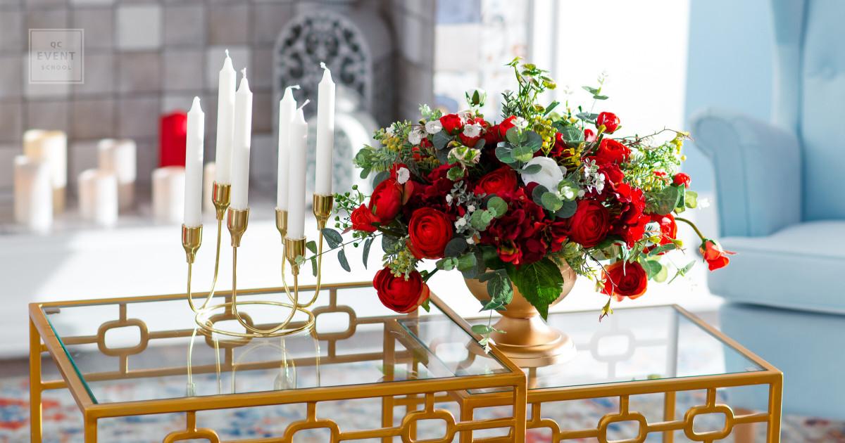 event decor floral design and bouquet