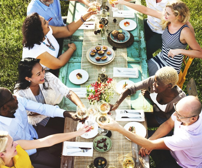 "Let single guests bring their own plus-ones to avoid the dreaded ""singles's table""!"