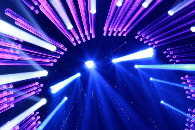 lighting effect display