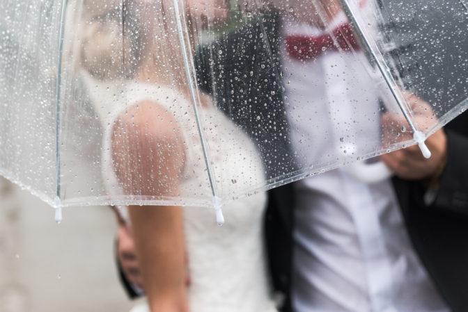 rained on couple