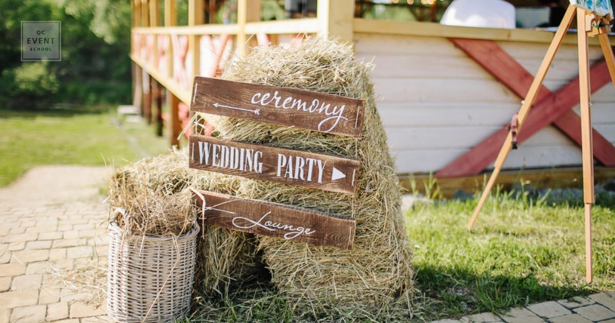 qc event school - rustic wedding event planner