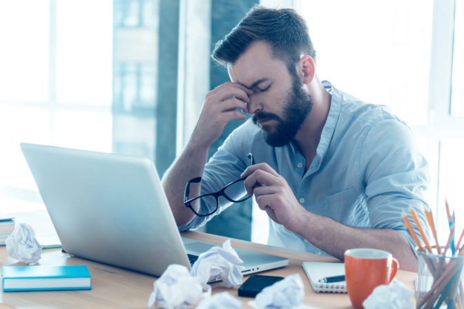 event planner exhaustion and managing stress