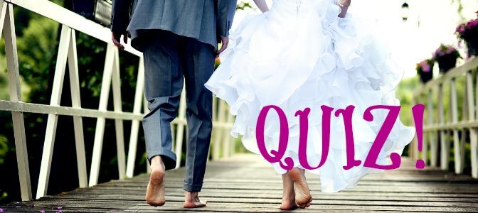 summer wedding quiz