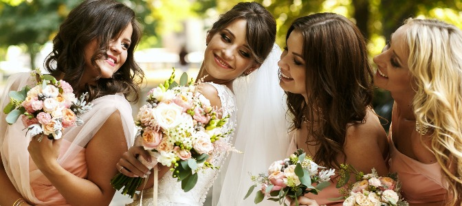 Why did bridesmaids become such a huge part of the wedding ceremony?