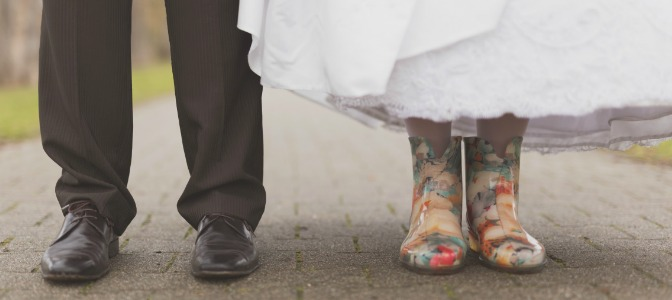 Is rain on a wedding day always an unlucky sign?