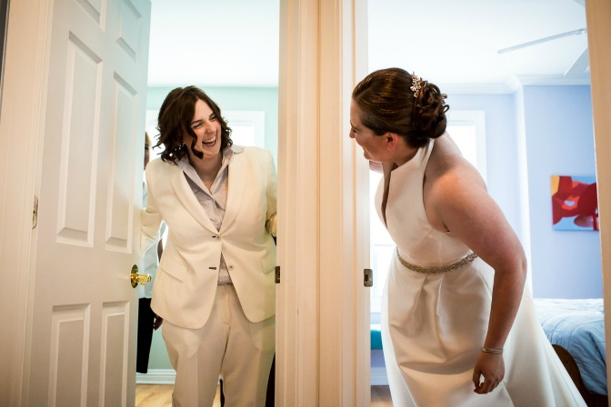 LGBTQ Weddings Two Brides