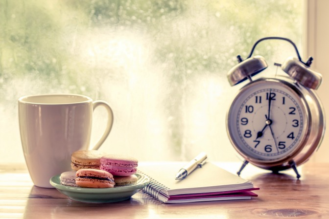 Event Planning Business Alarm Clock