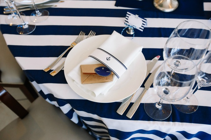 Themed Wedding Nautical Decor