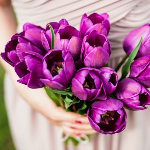 Fresh gardenias or simple tulips