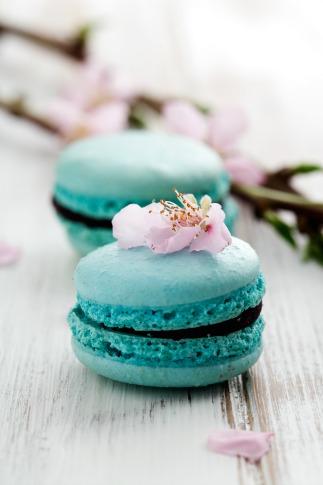 Maccaron wedding dessert instead of a wedding cake