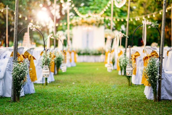 Creative wedding decor ideas from careful wedding planning