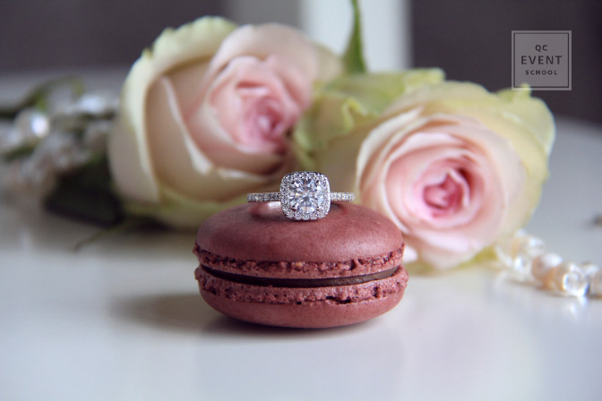 engagement party planning macaron