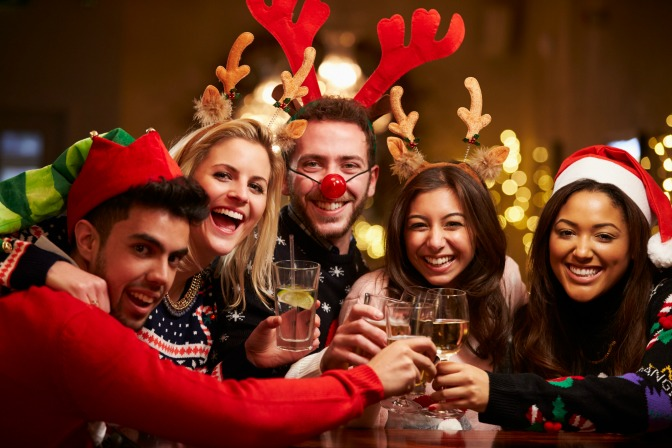 Holiday party after Christmas for corporate event ideas