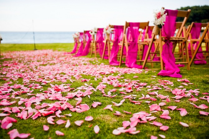 Creative wedding ideas for wedding planners and couples