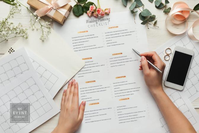 wedding planning checklist organization