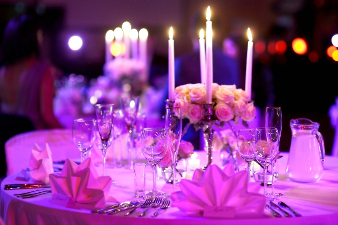 Candlelight Valentine's Day Party Ideas for Event Planners