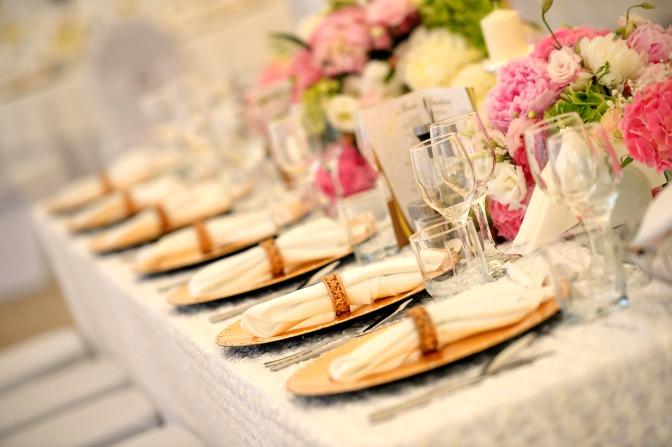 Photos for a professional wedding planning portfolio