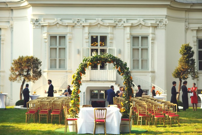 American mansion wedding venue for event planners