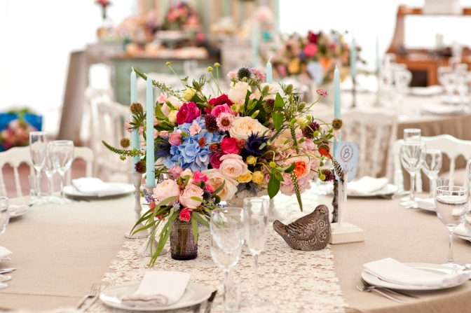 Professional wedding centerpiece designs