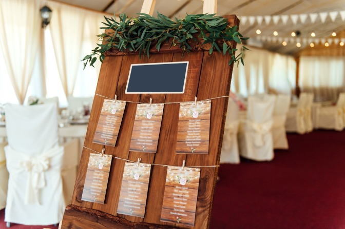 Signage for Events and Wedding venues