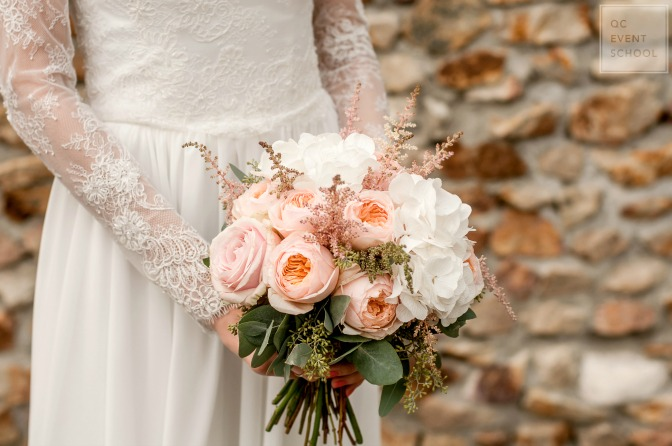 Floral designs for summer wedding decor and bridal bouquets