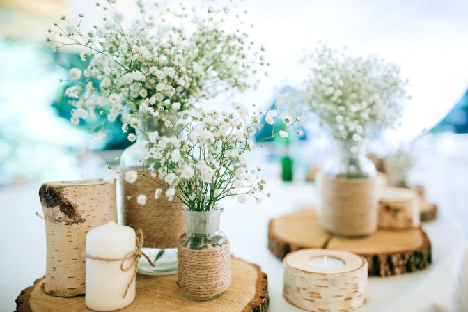 Pinterest table centerpiece decor ideas