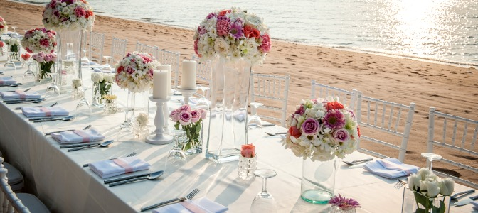 Table Design Idea for Destination Wedding Planners