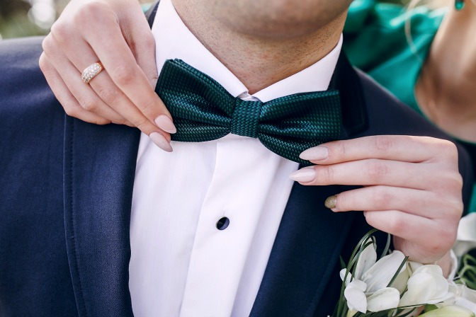 Etiquette for wedding attire